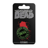 THE WALKING DEAD - 15th Anniversary Pin (Green Logo)