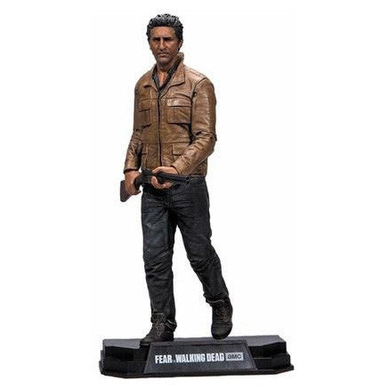 "AMC's THE WALKING DEAD - Color Tops - Red Wave - Travis - 7"" Action Figure #3"