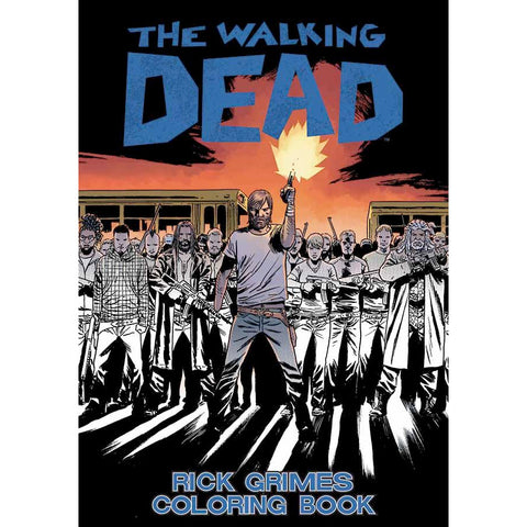 THE WALKING DEAD: Rick Grimes Coloring Book