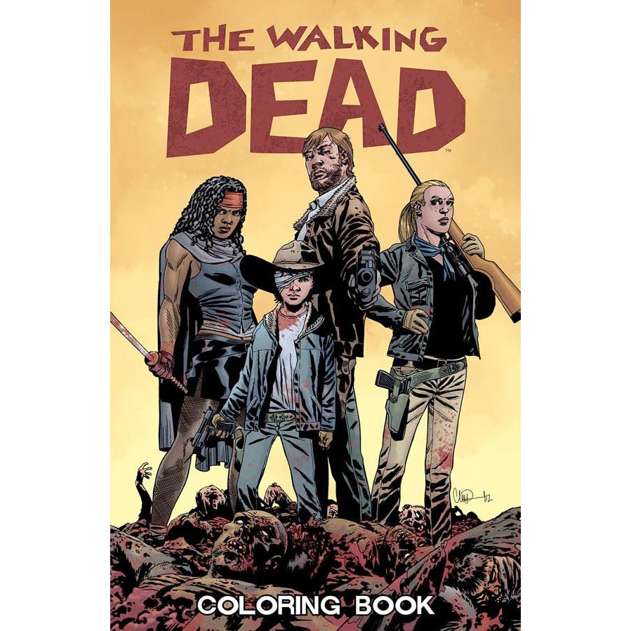 THE WALKING DEAD: Coloring Book – Skybound