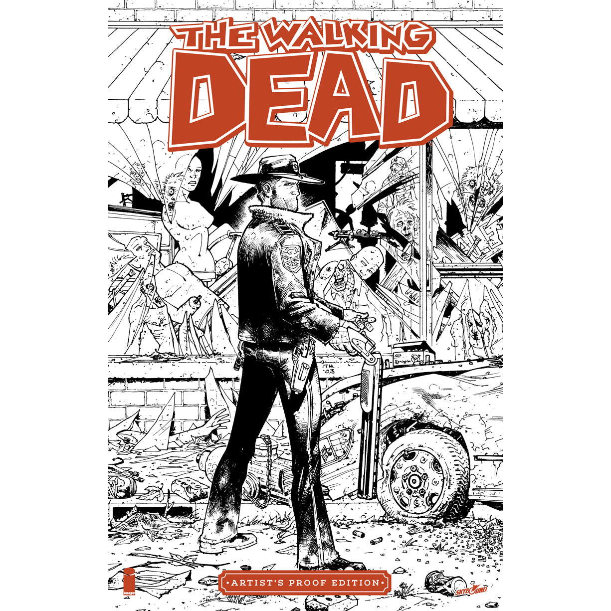 THE WALKING DEAD #1 Image Giant-Sized Artist's Proof Edition