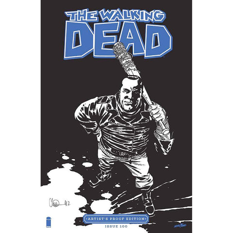 THE WALKING DEAD #100 Image Giant-Sized Artist's Proof Edition