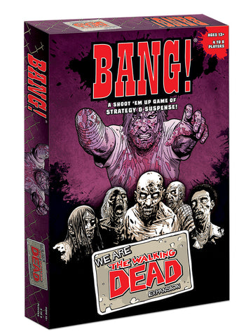 THE WALKING DEAD BANG! We Are The Walking Dead Expansion