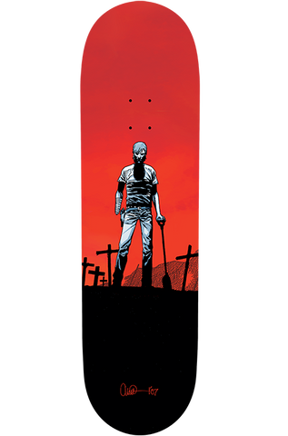 "THE WALKING DEAD - Skate Deck - ""Rick"""