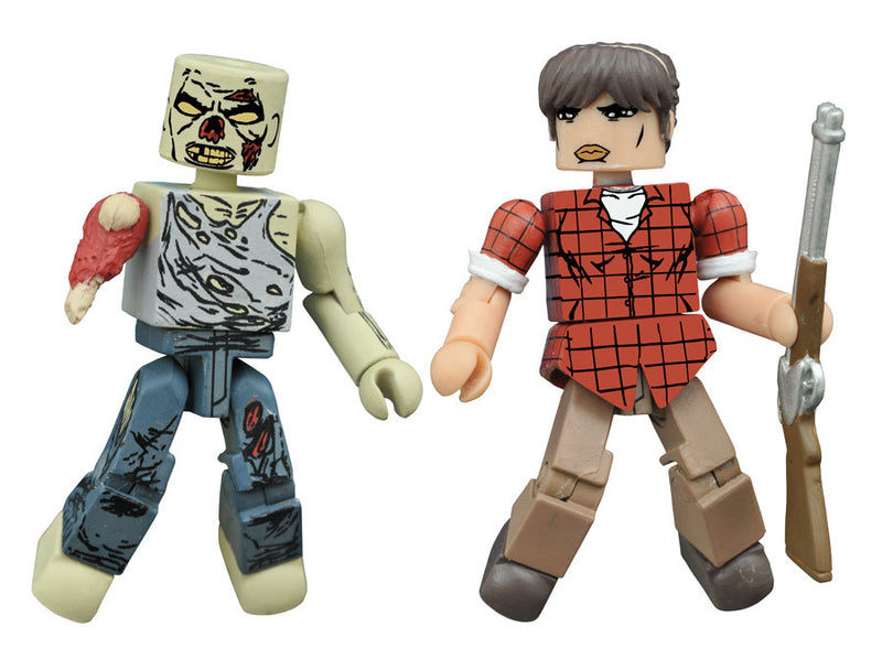 THE WALKING DEAD Minimates Series 8 - Hilltop Maggie and Forest Zombie