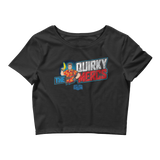 "Movie Trivia Schmoedown ""The Quirky Mercs"" - Crop Tee"