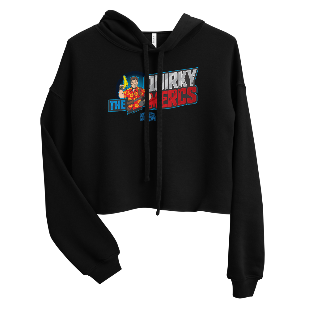 "Movie Trivia Schmoedown ""The Quirky Mercs"" - Crop Hoodie"