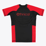 """essentials short sleeve compression rash guard"""