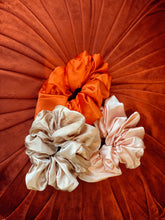 Load image into Gallery viewer, Champagne Oversized Silk Scrunchie