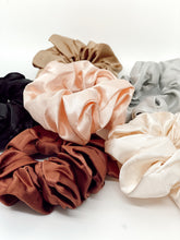 Load image into Gallery viewer, Rust Silk Scrunchie