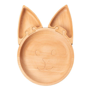 Load image into Gallery viewer, The Fox - Wooden Jigsaw Plate For Children