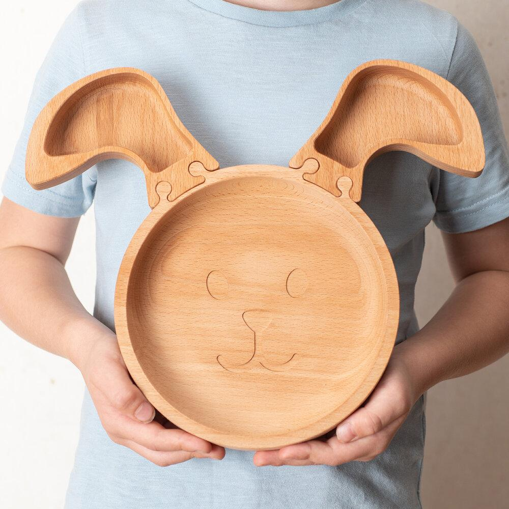 Load image into Gallery viewer, The Rabbit - Wooden Jigsaw Plate For Children