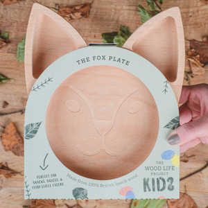 Load image into Gallery viewer, The Wooden Fox Plate For Children