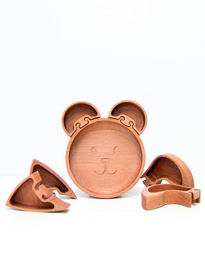 Load image into Gallery viewer, Wooden Rabbit Ears - For Jigsaw Plate