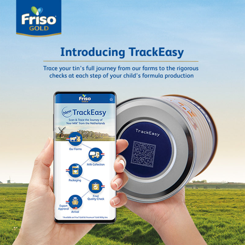 Friso Gold Step 4 900g Triple Pack