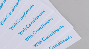 DL Compliment Slip