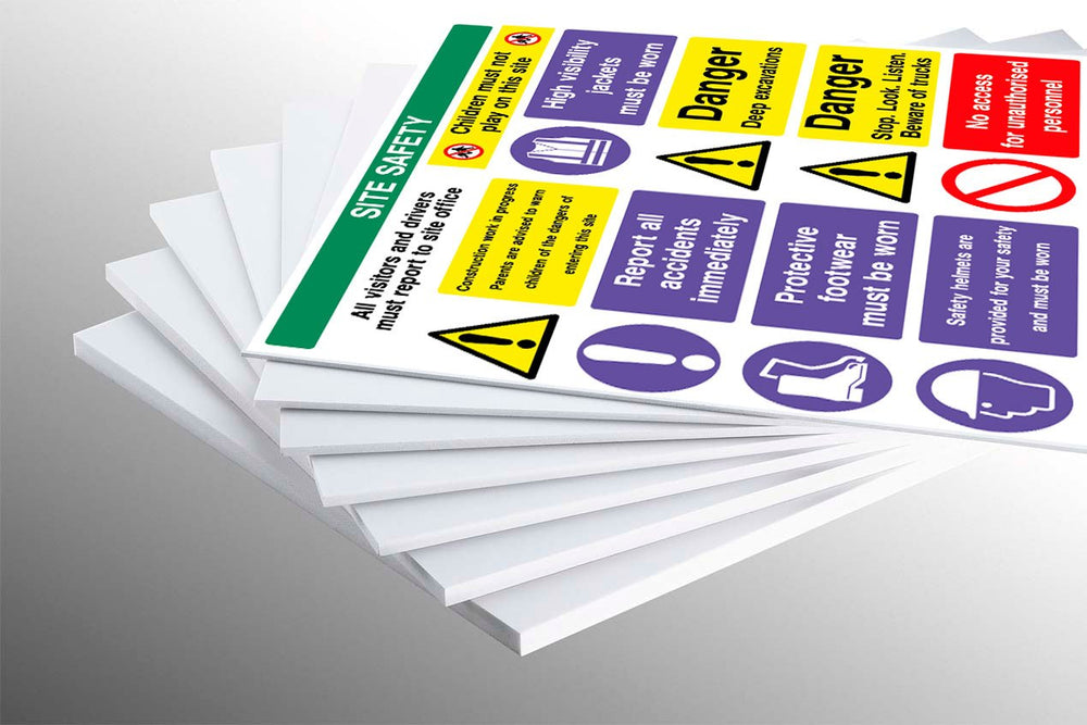 Correx Signage - Single Sided