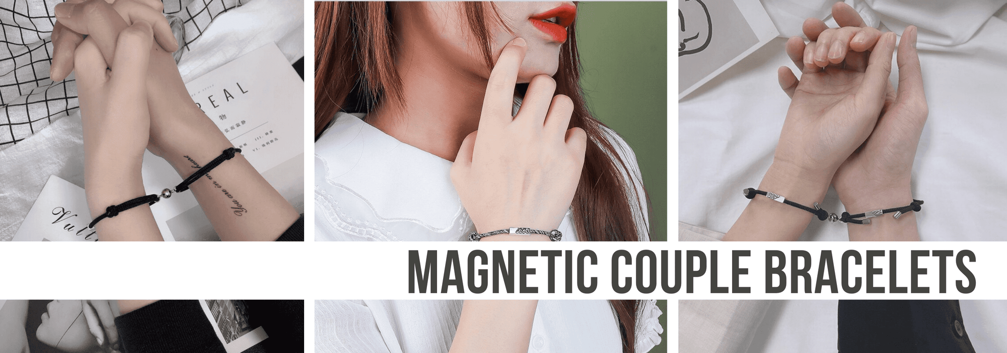 Magnetic Couple Bracelets