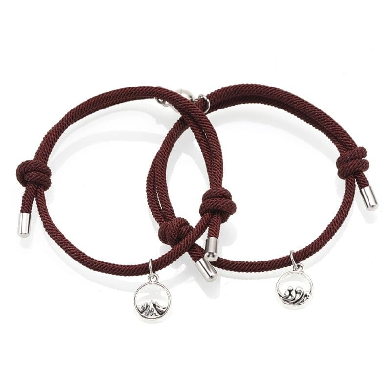 Magnetic Couple Bracelets <br/> Feelings