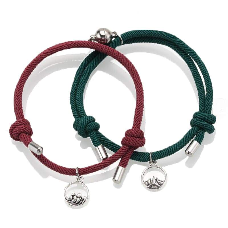 Magnetic Couple Bracelets <br/> Lust