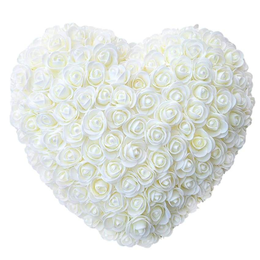 White Rose Heart