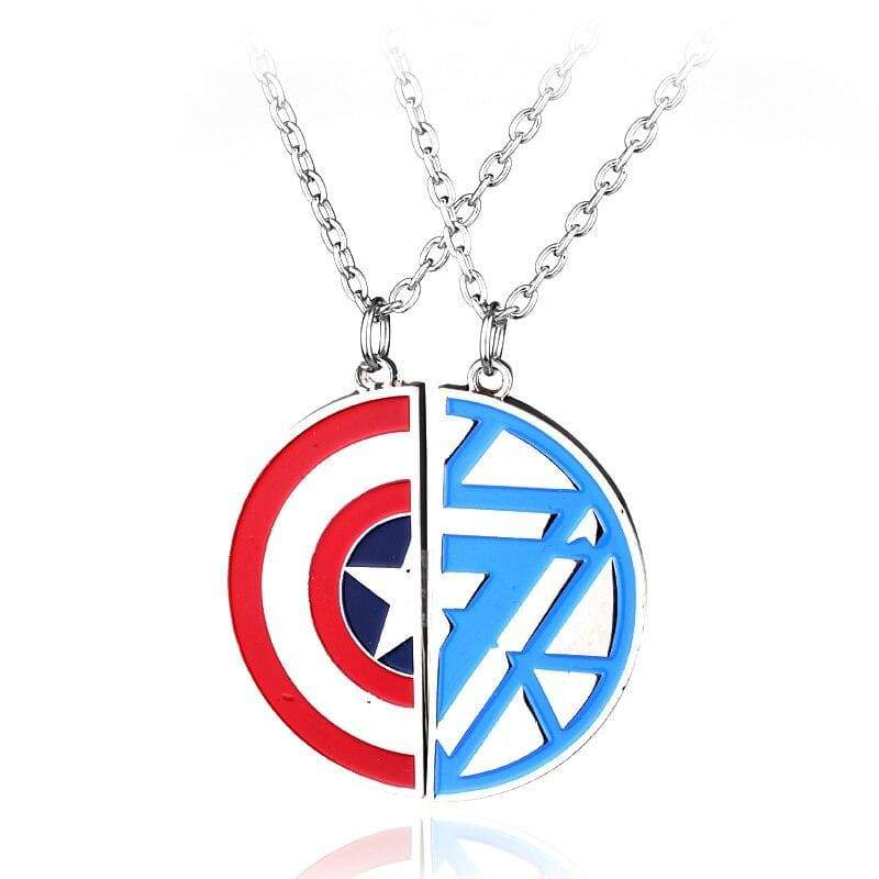 Couple Necklaces <br/> Marvel