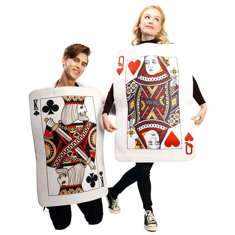 Couple Costume <br/> Poker