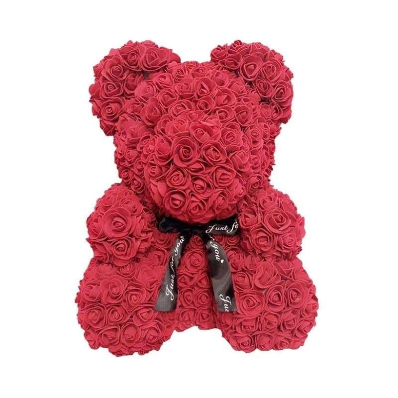 "Rose Bear 16"" <br/> Red"