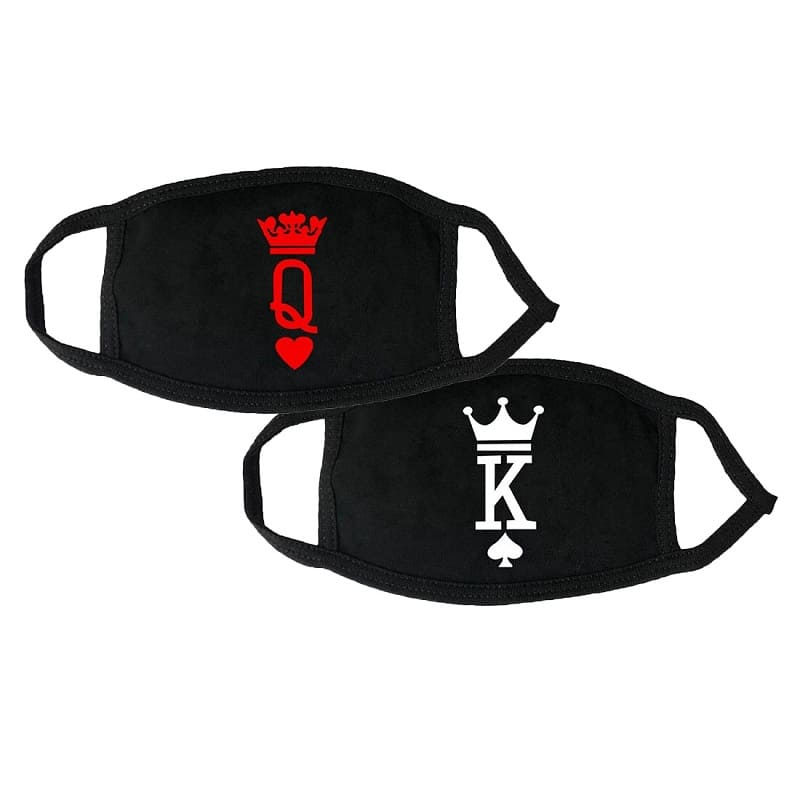 Couple Masks <br/> King & Queen