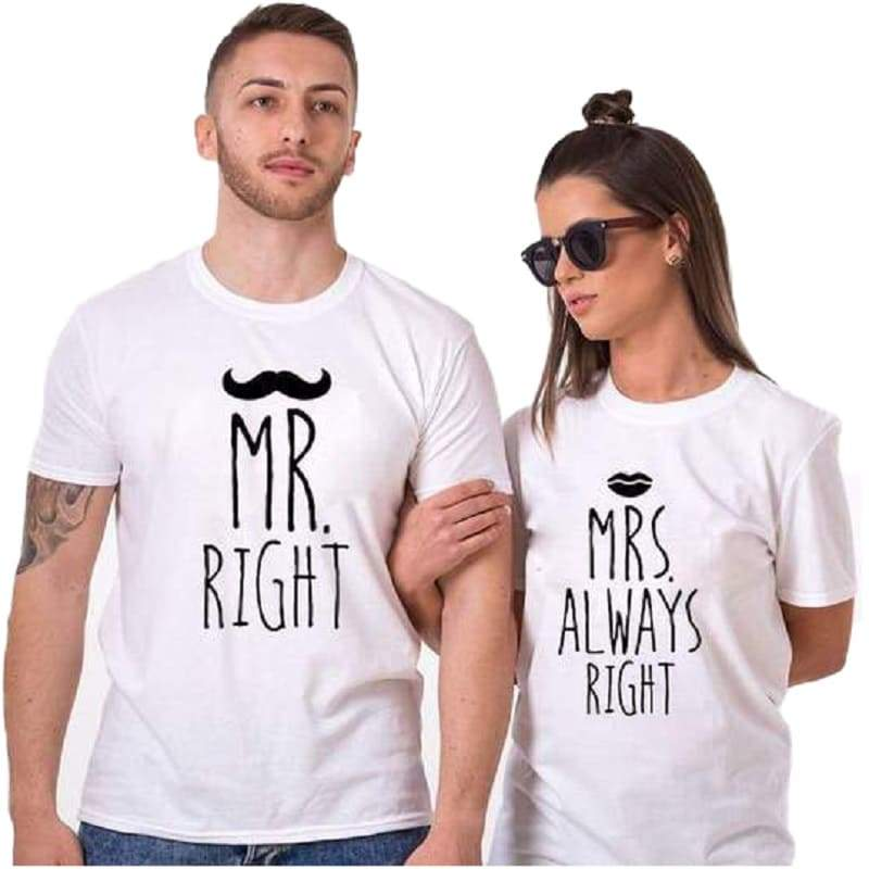 Couple T Shirts <br/> Happy