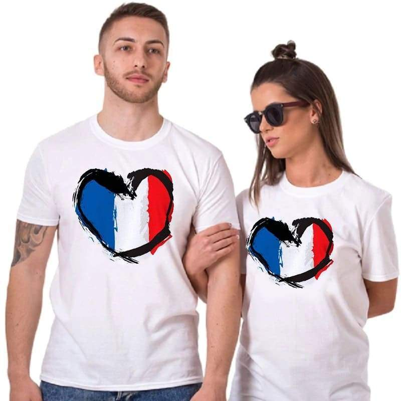Couple T Shirts <br/> France