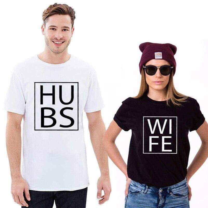 Couple T Shirts <br/> Husband Wife
