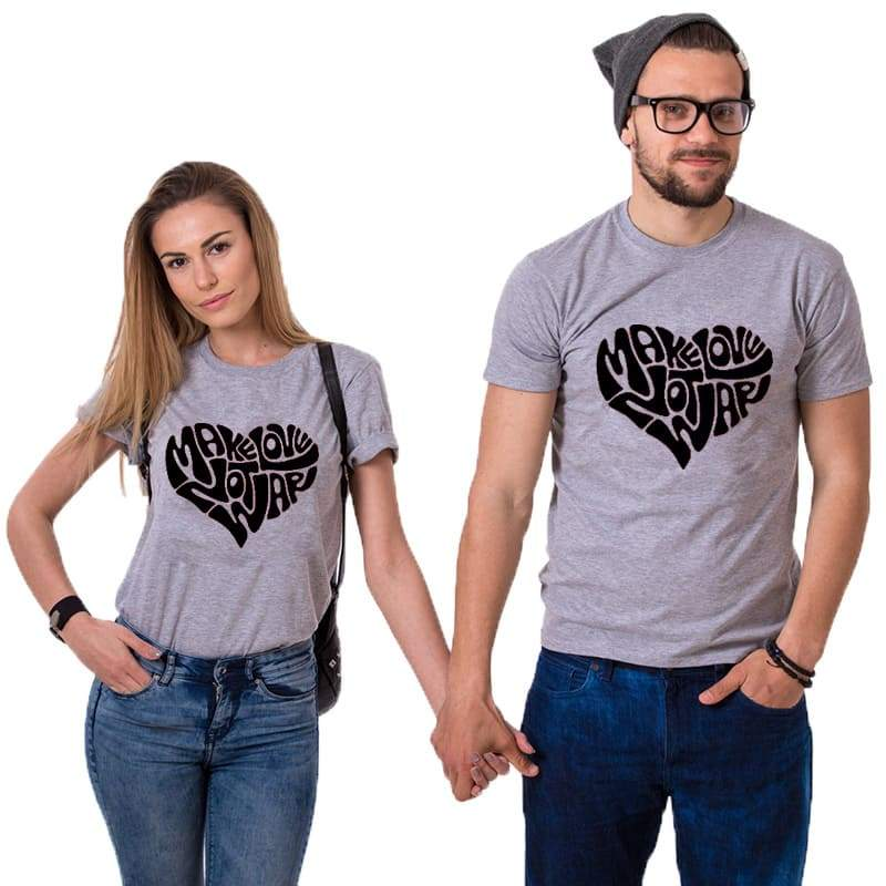 Make Love Couple T-shirts