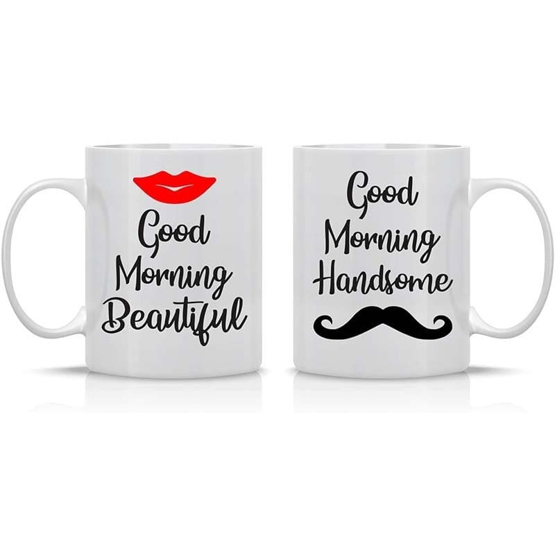 Couple Mugs <br/> Good Morning