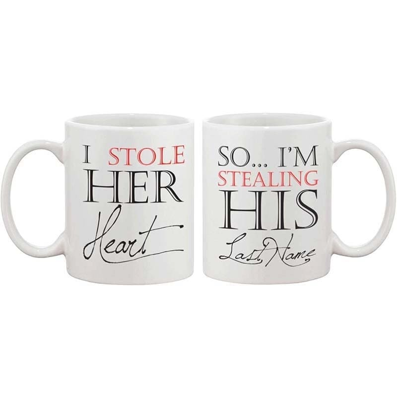 Couple Mugs <br/> My heart