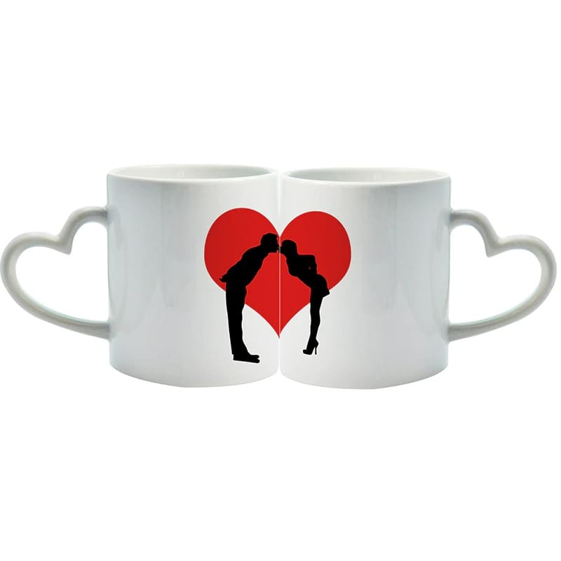 Couple Mugs <br/> Heart