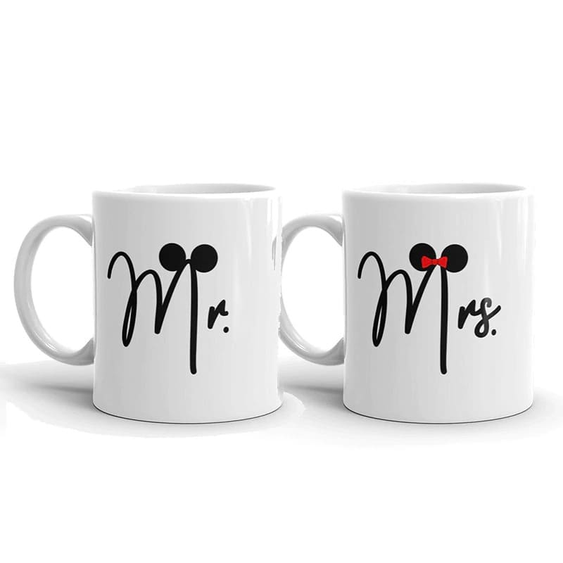 Couple Mugs <br/> Mr & Mrs