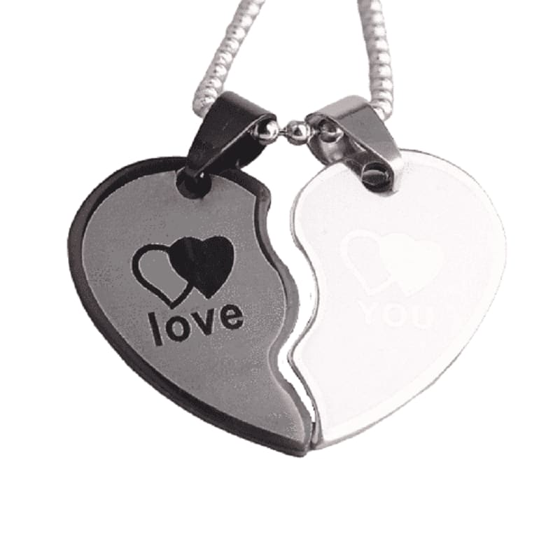 Couple Necklaces Distance - Couple-Gift-Store