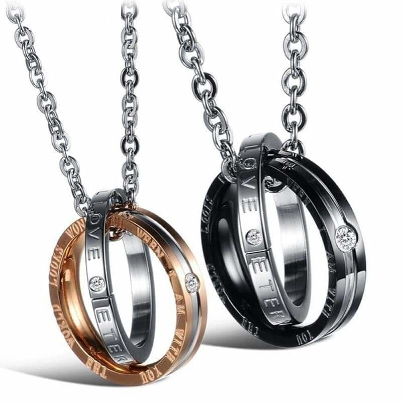 Couple Necklaces Love - Couple-Gift-Store
