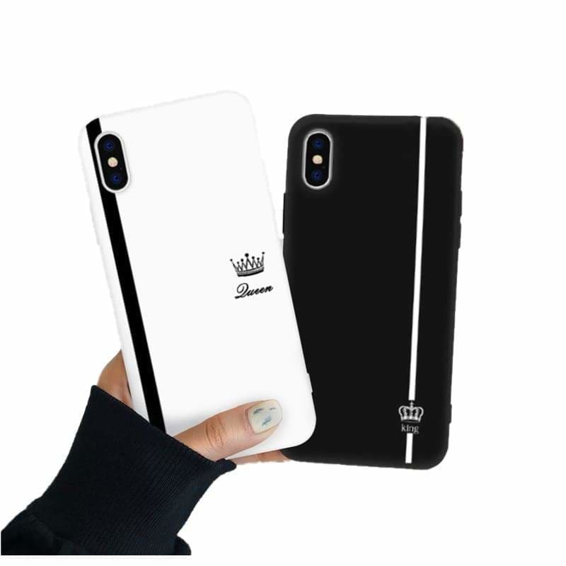 Couple Phone Case <br/> King and Queen