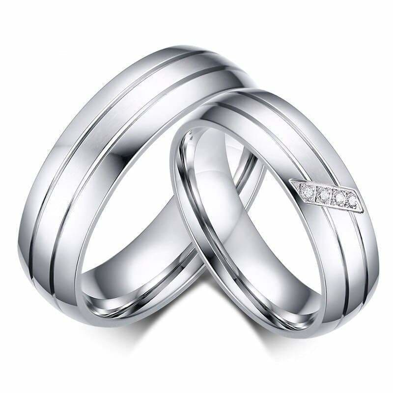 Couple Rings <br/> Silver