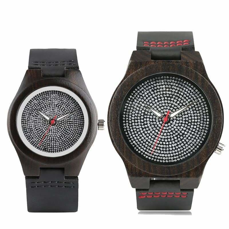 Couple Watches <br/> Scintillating Wood