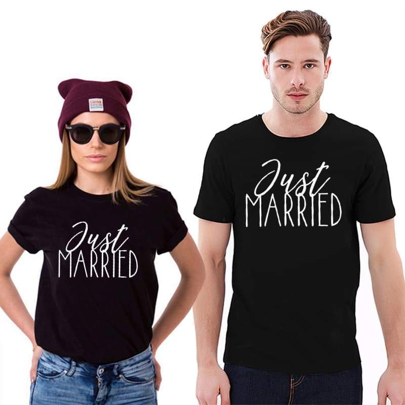 Couple T Shirt <br/> Newlyweds