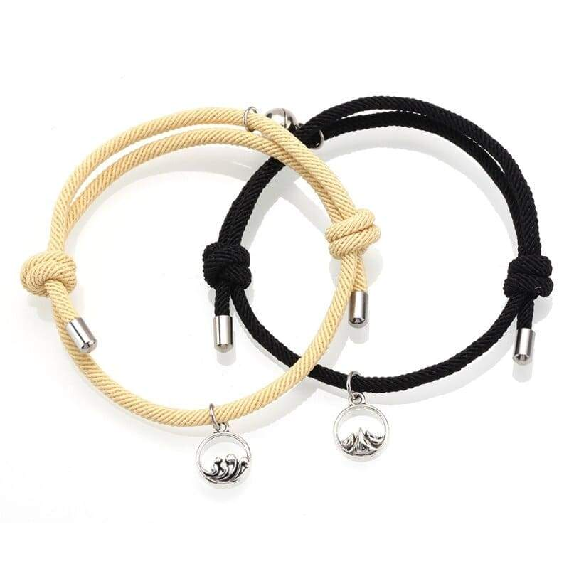 Magnetic Couple Bracelets <br/> Affection