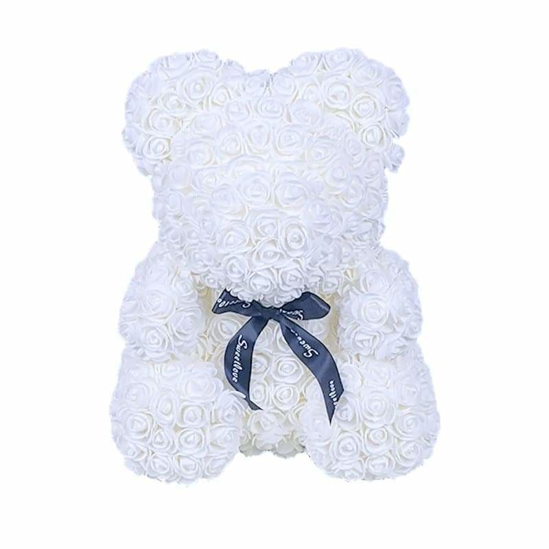 "Rose Bear 16"" <br/> Purity"