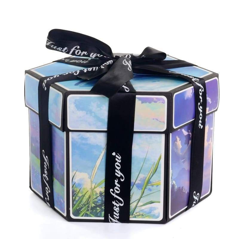 Surprise Photo Box Blue Sky - Couple-Gift-Store