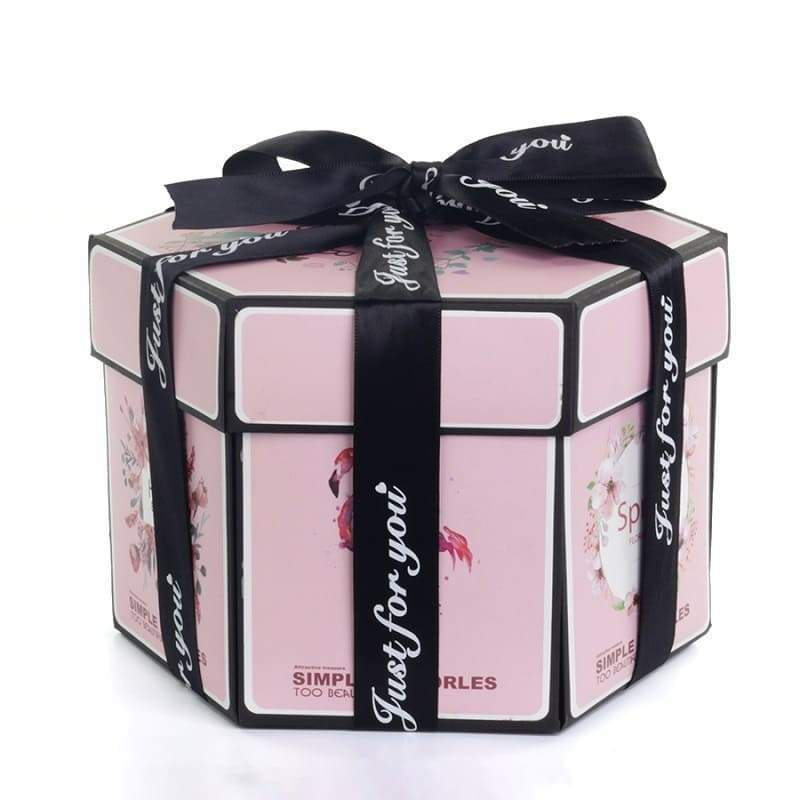 Surprise Photo Box Pink Flamingo - Couple-Gift-Store