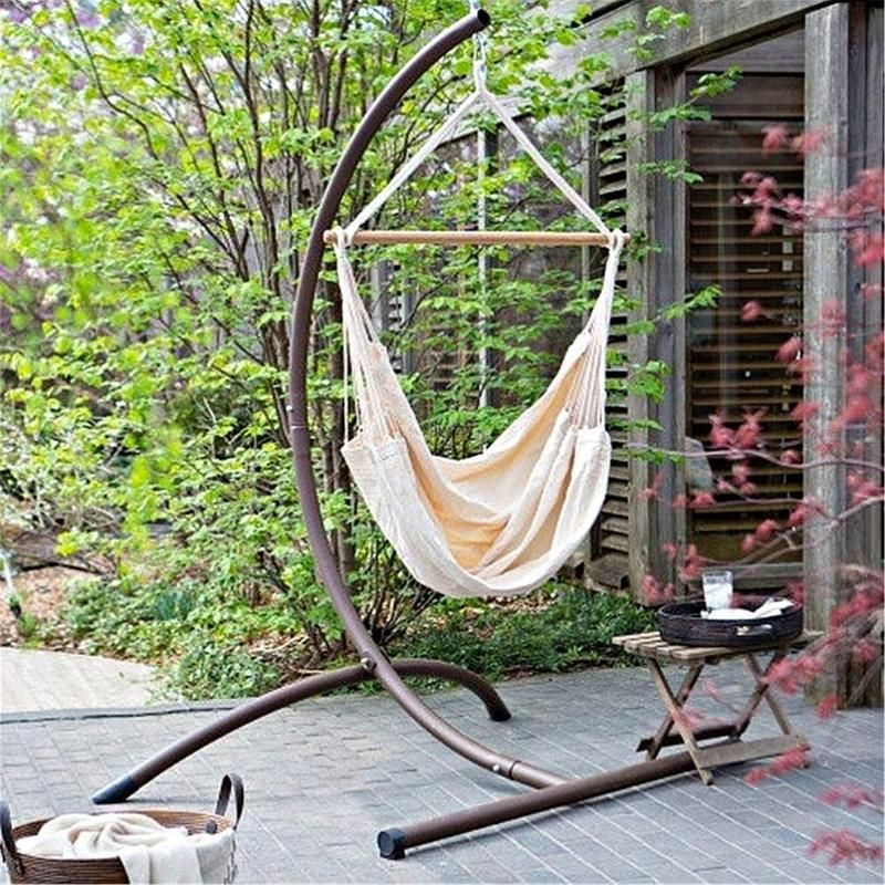 Portable Hanging Chair Hammock (Stand not included)