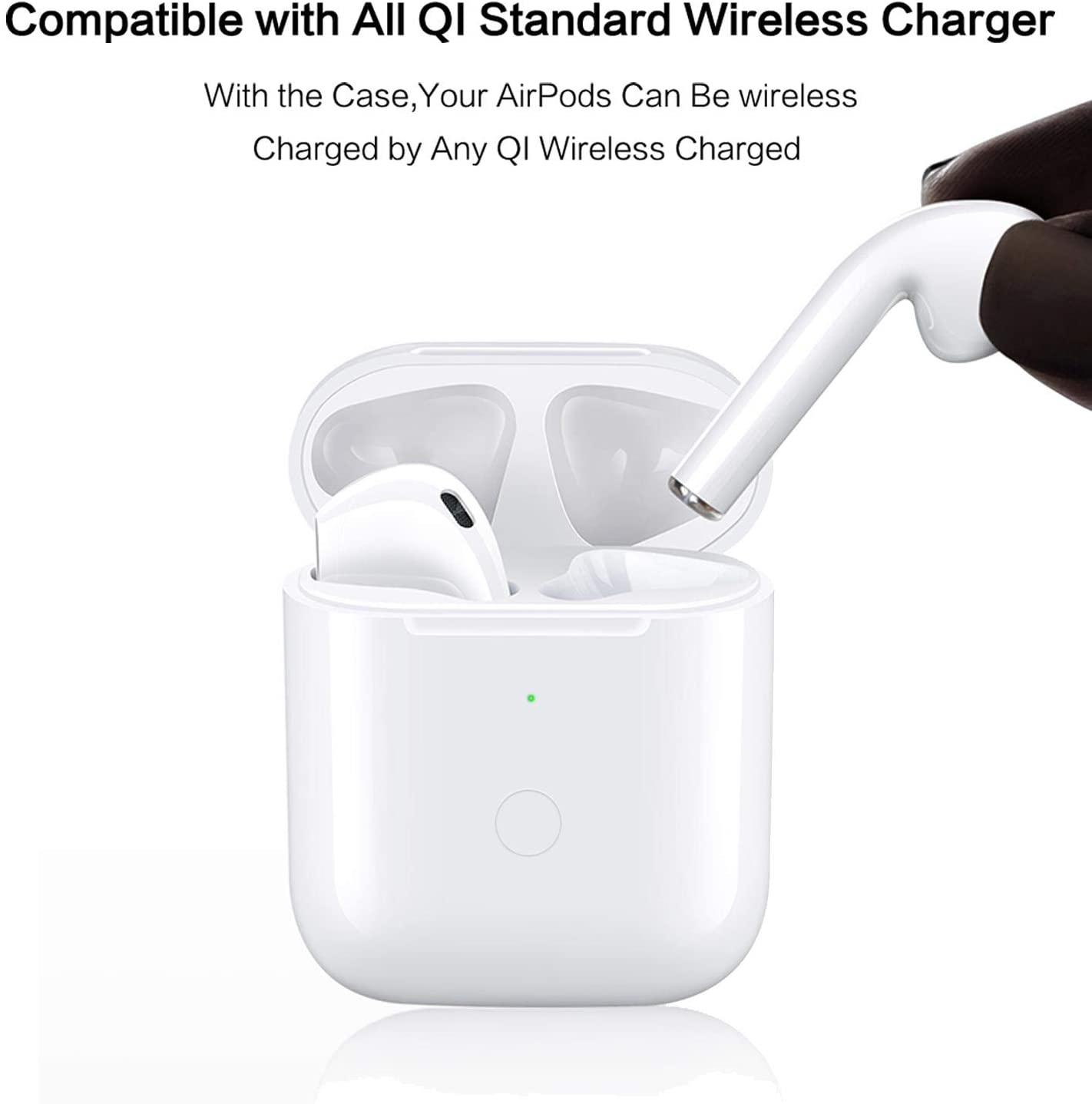 Wireless Charging Case For 1St And 2Nd Gen Airpods