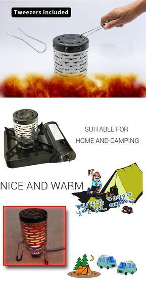 Stay Warm Camping Heater (2pcs)